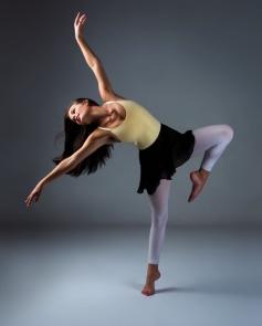 Girl dancing at Derwent Danceworks