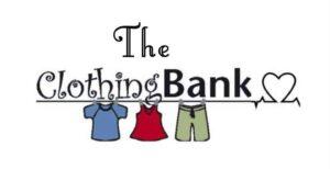 The clothing bank logo