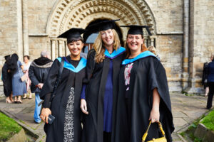 Selby college students graduating