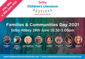 Selby Children's Literature Festival Flyer